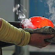 Blowing Glass IIi Poster