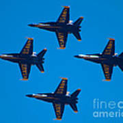 Blue Angels 10 Poster