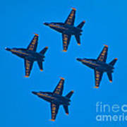 Blue Angels 8 Poster
