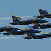 Blue Angels Take 6 Poster