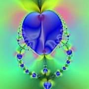 Blue Apples  Poster