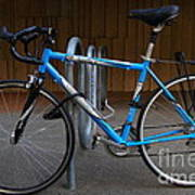 Blue Bicycle . 7d10157 Poster