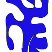 Blue Form 15 Poster