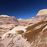 Blue Mesa Landscape Poster