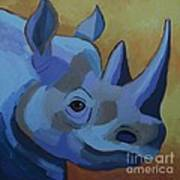 Blue Rhino Poster