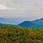 Blue Ridge Panorama Poster