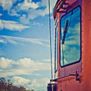 Blue Skies Ahead Poster