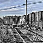 Blue Sky Train2 Poster