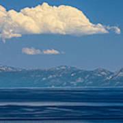 Blue Tahoe Poster