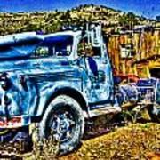 Blue Truck Poster