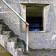Blue Window Bunker Poster