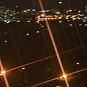 Blurred City Nights Poster by Naomi Berhane
