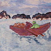 Boatmen Poster
