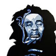 Bob Marley Poster by Michael Ringwalt
