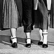 Bobby Socks, Ankle High, Often Thick Or Poster by Everett