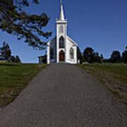 Bodega Church Poster by Garry Gay