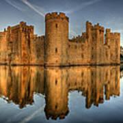 Bodiam Castle Poster by Mark Leader