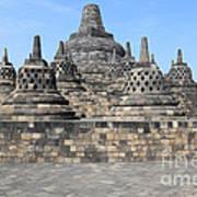 Borobudur Mahayana Buddhist Monument Poster