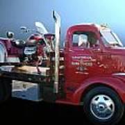 Boss Hoss Truck Poster