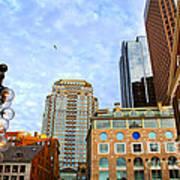 Boston Downtown Poster