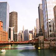 Chicago Skyscraper 2 Poster