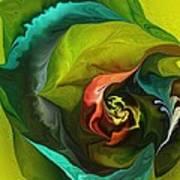 Botanical Fantasy 011512 Poster