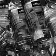 Bottles Of Water Poster