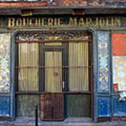 Boucherie Marjolin Poster