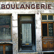 Boulangerie Poster by Georgia Fowler