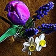 Bouquet Of Bulbs Poster