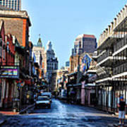 Bourbon Street By Day Poster