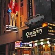 Bowlmor Lanes At Times Square Poster