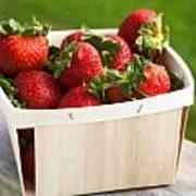 Box Of Strawberries Poster