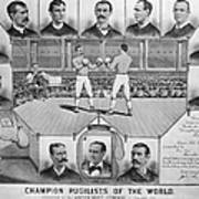Boxing: American Champions Poster by Granger