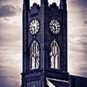 Boyertown Clock Tower Poster