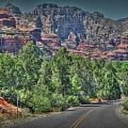 Boynton Canyon Colors Poster