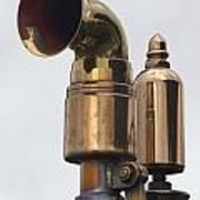 Brass Horn Poster