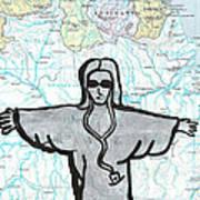 Brazil Poster by Jera Sky