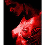 Breast In Color Poster