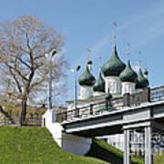Bridge And Church Poster
