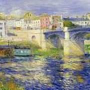 Bridge At Chatou Poster