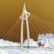 Bridge Iced Poster by David Alvarez