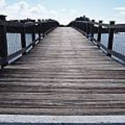 Bridge Over Calm Waters Poster