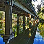 Bridge Over Ovens River Poster by Kaye Menner