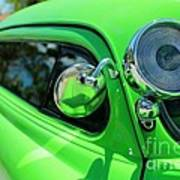 Bright Green Poster