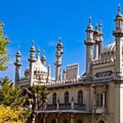 Brighton Royal Pavillion - England Poster