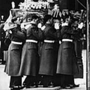 British Royalty. Funeral Of British Poster by Everett