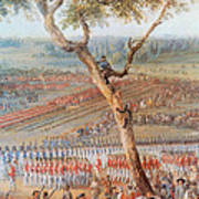 British Troops Surrender At Yorktown Poster