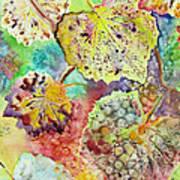 Broken Leaf Poster by Karen Fleschler