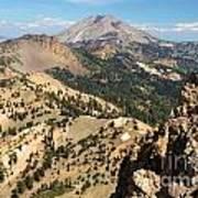 Brokeoff Mountain Peak Poster